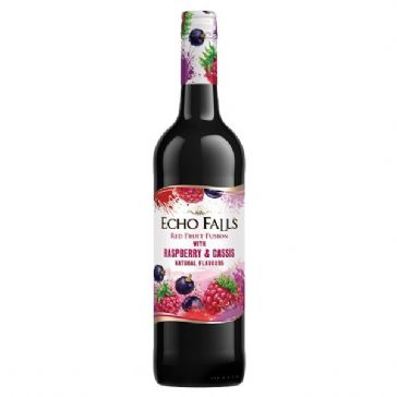 Echo Falls Fruit Fusion Raspberry & Cassis 750ml
